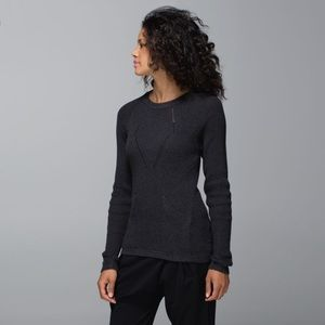 Lululemon The Sweater The Better Cable Knit D10